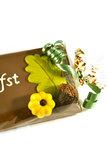 Handgeschreven Chocoladereep 'Anti- Herfstdip' _
