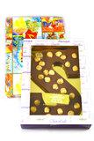 Chocolade Hazelnoot Letter S_