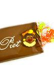 Handgeschreven Chocoladereep 'Van Sint' of 'Van Piet' _