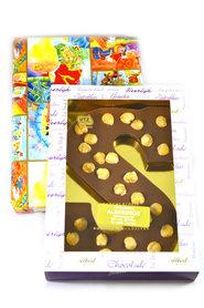 Chocolade Hazelnoot Letter S