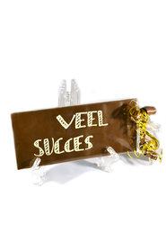 Handgeschreven Chocoladereep 'Veel Succes'