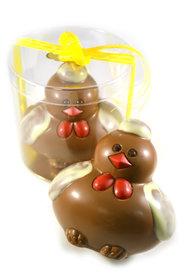Chocolade Kip Ploffie