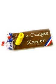 Handgeschreven Chocoladereep '4 daagse Kanjer'