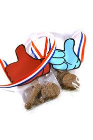 Vierdaagse duim Chocolade snoepzakje