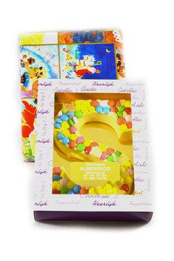 Chocolade Confetti Letter S