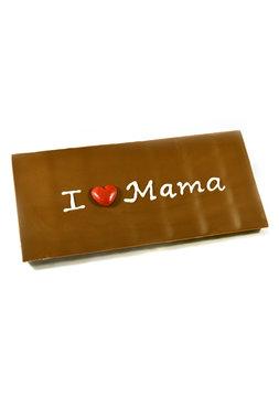 Handgeschreven Chocoladereep 'I hartje Mama'
