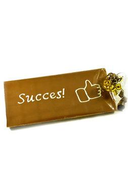 Handgeschreven Chocoladereep 'Succes'