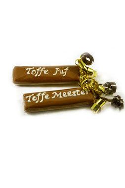 Handgeschreven Toffeereep 'Toffe Juf/Meester'
