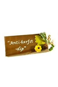 Handgeschreven Chocoladereep 'Anti- Herfstdip'
