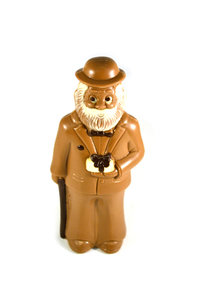 Chocolade Abraham 3D Staand