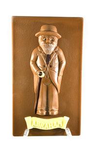 Chocolade Abraham plat